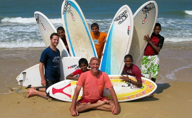 Surfin Swami and Mantra Surf Club