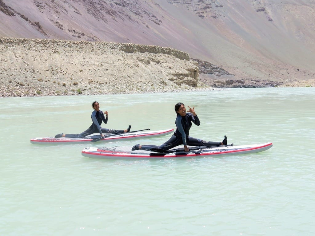 Stand Up Paddling In The Himalayas
