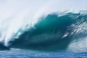 Surf spots in India: Big Rock Wave
