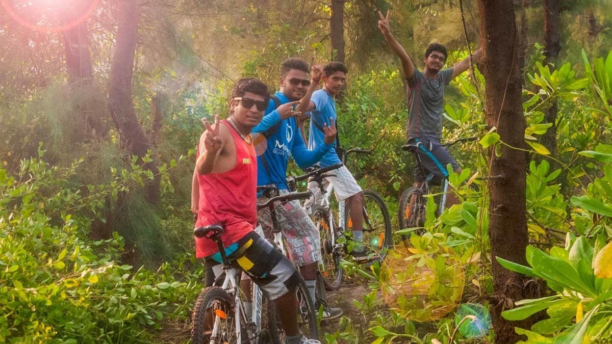 Cycling Tours at Mantra Surf Club - Mangalore, Karnataka, India