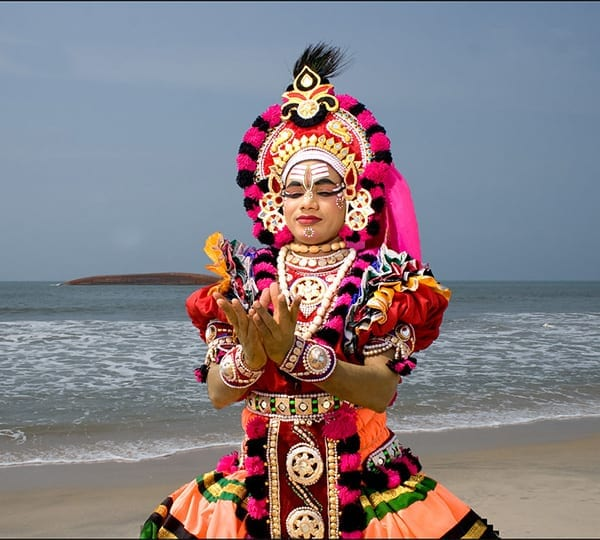 Indian dance - Yakshagana - Mulki - Mantra Surf Club
