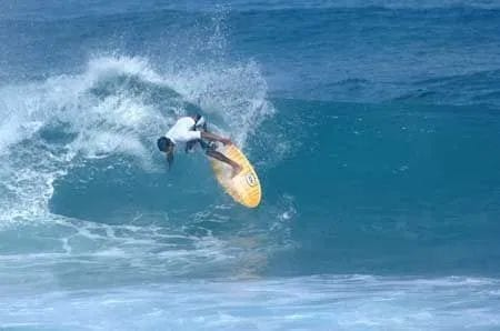 Surf spots in India: Maldives Surfer