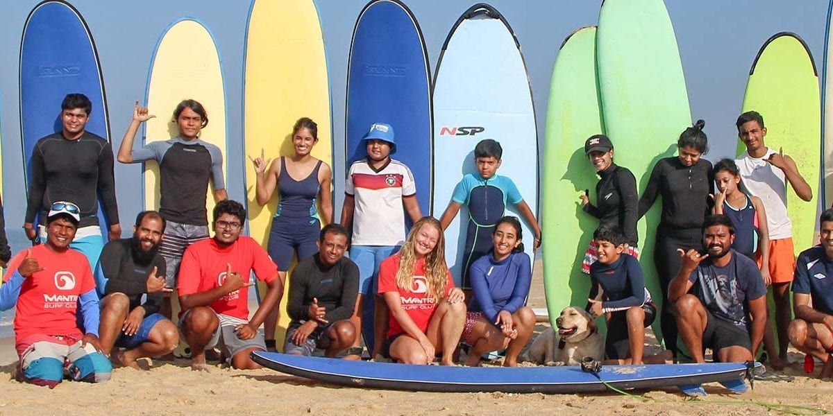 India Surf School - Mantra Surf Club - Surfing India - Mulki, Mangalore, Karnataka, India