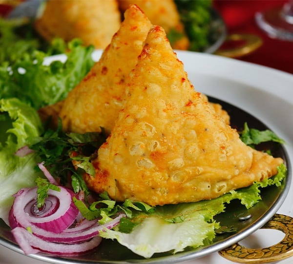 Samosa Snack - Mulki - Mantra Surf Club - Surfing India