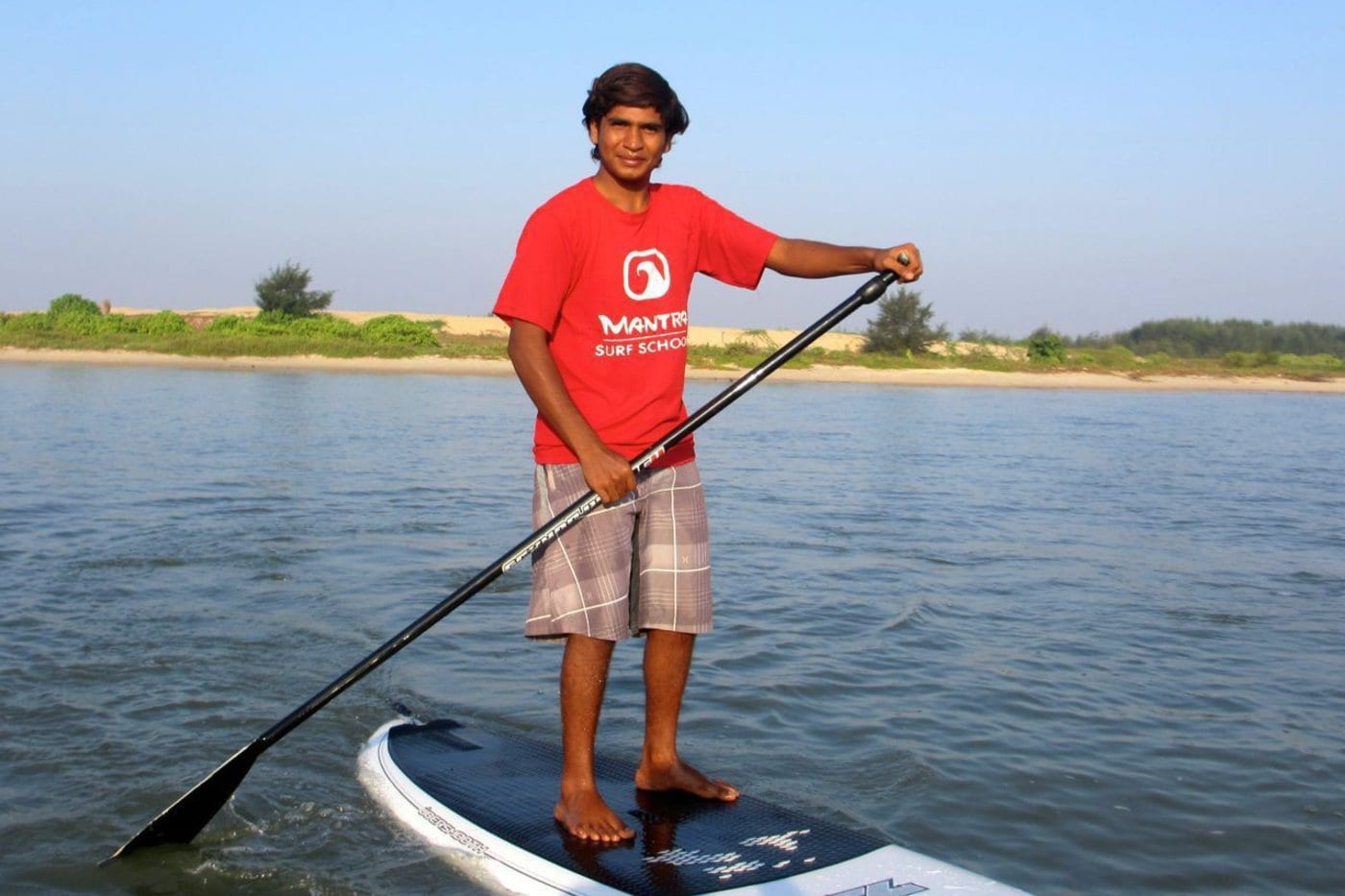 Stand Up Paddle in the river nearby.© Mantra Surf Club