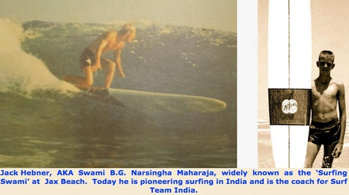Surfing Swami - Teen Surf Pioneer - Florida, United States