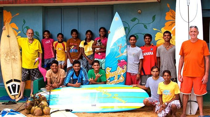 Surfing Swami - Mantra Group photo