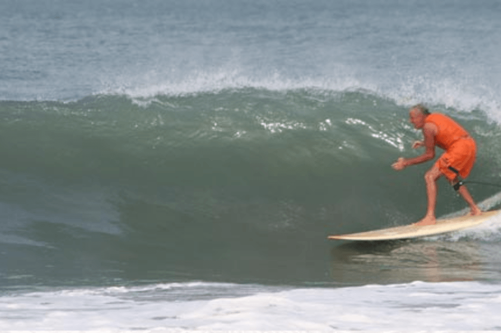 Surfing Swami South India © Mantra Surf Club